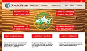Création site Internet Toulouse du Sandball