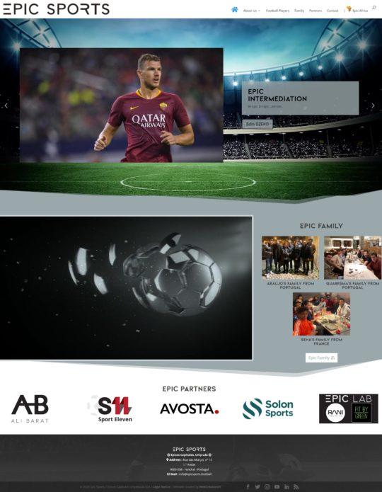 EpicSports.football, Management de Footballeurs et Intermediation
