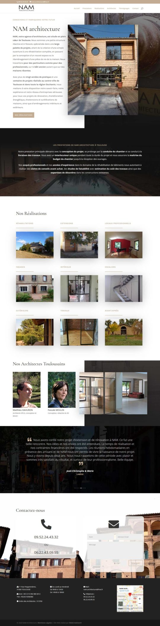 NAM Architecture à Toulouse